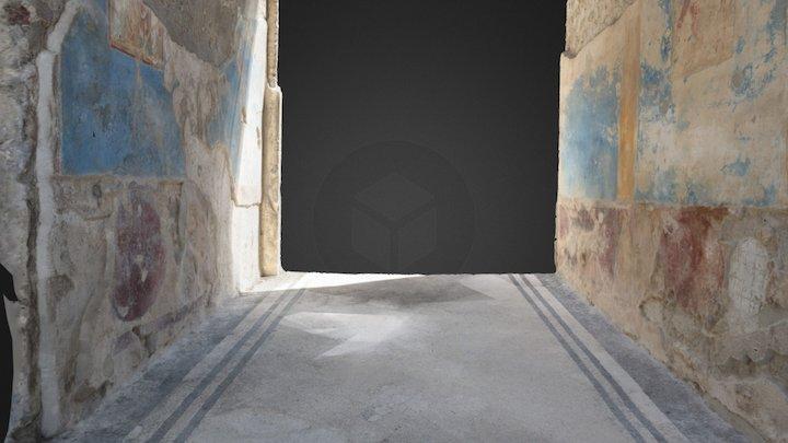 House of Marcus Lucretius at Pompeii - Room 1 3D Model