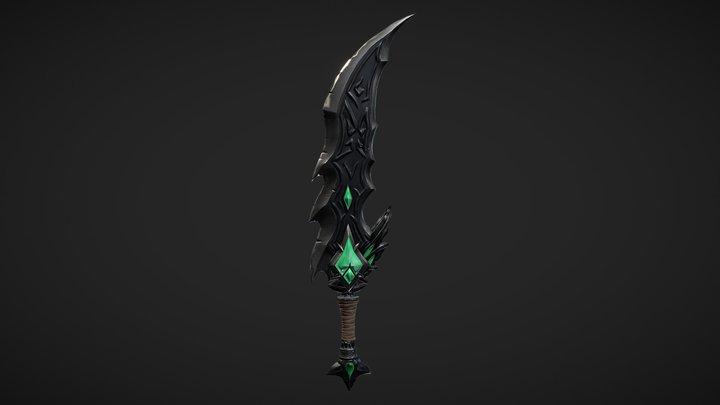 Tryndamere's Sword 3D Model