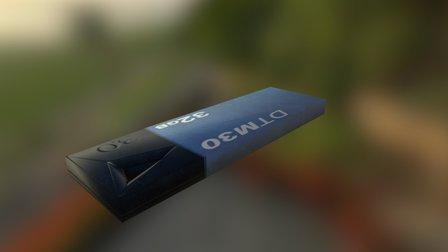 USB Pendrive - FREE 3D Model