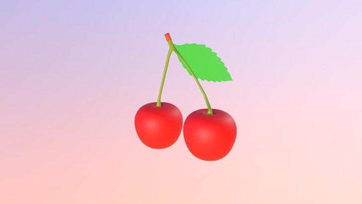 Cherries 3D Model