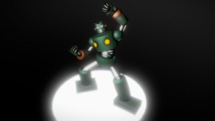 Robot KamTam 3D Model