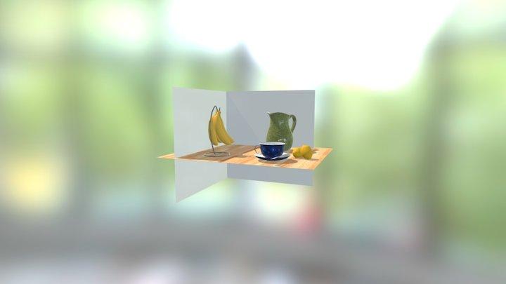 Kitchen Still Life 3D Model