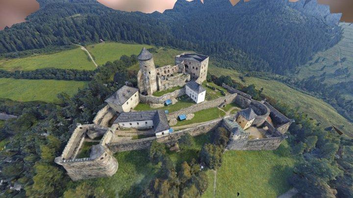 Stara_Lubovna_aerials 3D Model