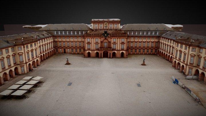 Universität Mannheim 3D Model