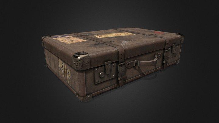 Vintage Travel Bag [Tutorial Included] 3D Model