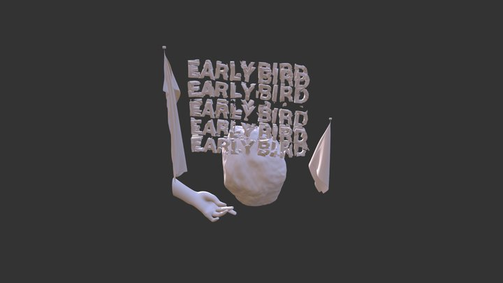 The early bird (sigh) Traces  III 3D Model
