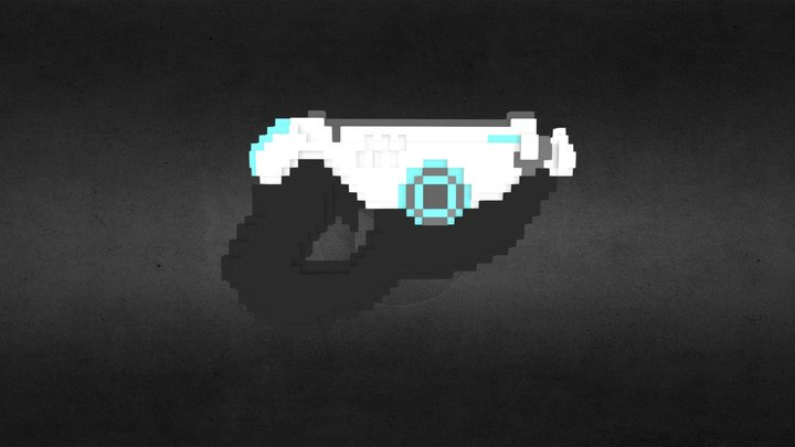 Tracer's Gun(s) 3D Model