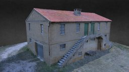 Country House 50s' 3D Model