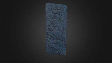 Grabados Rupestres Los Saltos - EL Hierro 3D Model