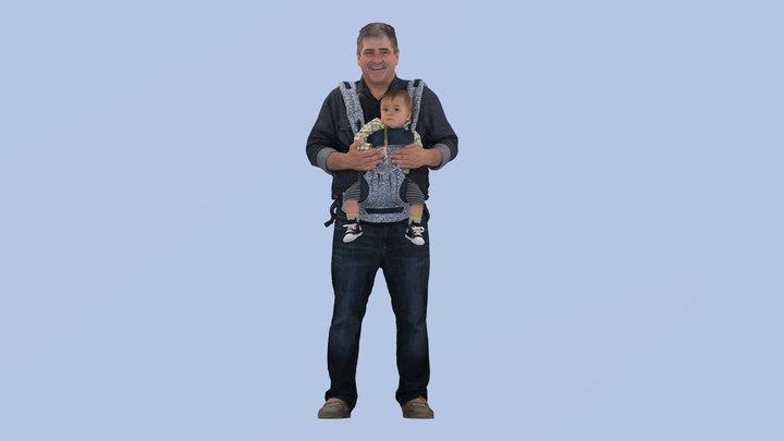 Joshua 3D Model