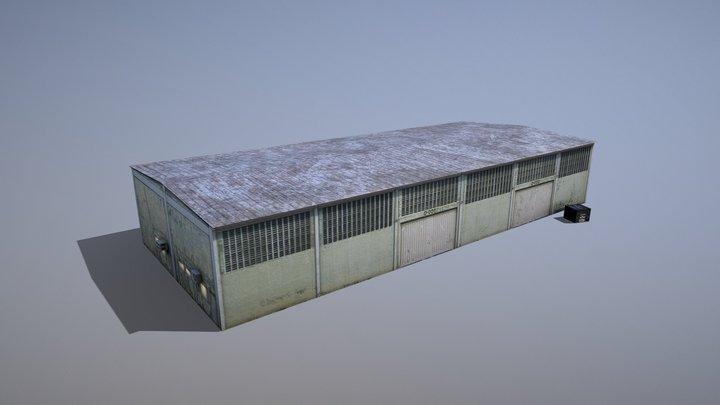 MilitaryBase_PortoVelho_Storage_01 3D Model