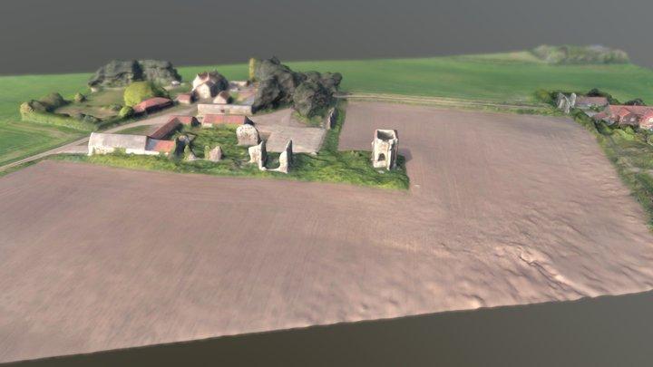 Bromholm Priory 3D Model