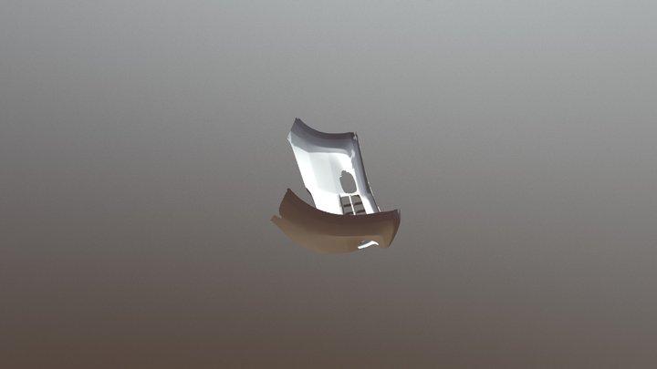 汽車保險桿 3D掃描 3D Model
