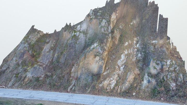 Landslide 3d model 3D Model