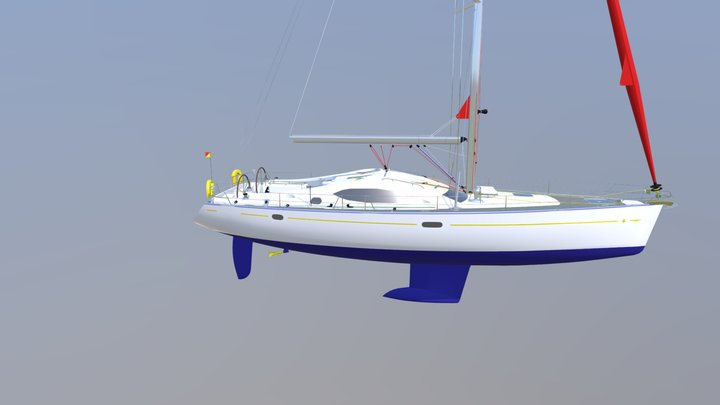 Yacht Safety Equipment 3D Model