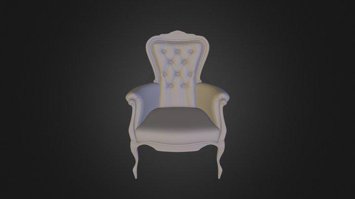 Moooi Smoke Armchair 3D Model