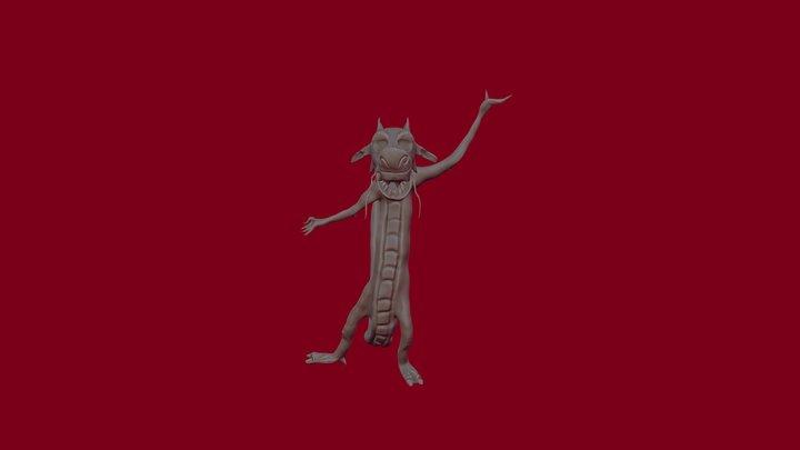 Mushu 3D Model