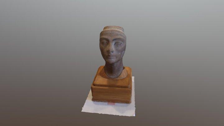 Nefertiti Bust 180crop 3D Model