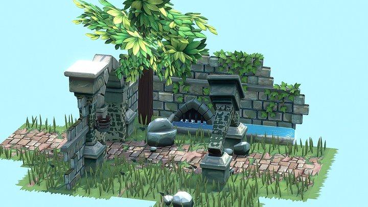Little Environment 3D Model