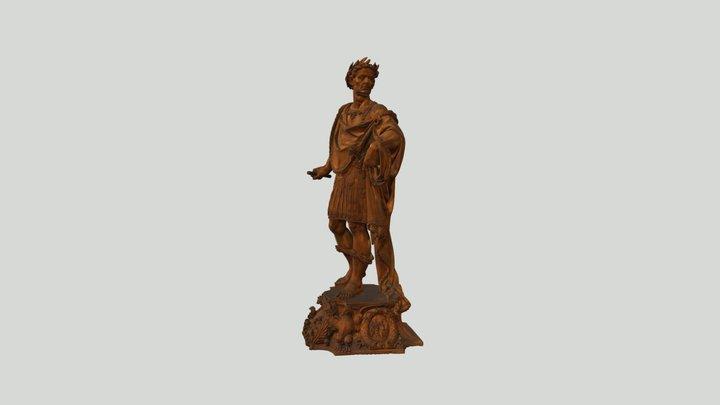 Statuette of Julius Caesar 3D Model