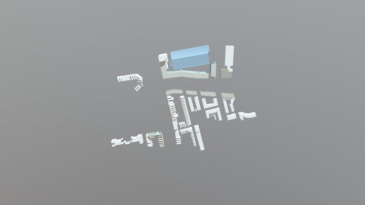 buffer 3D Model