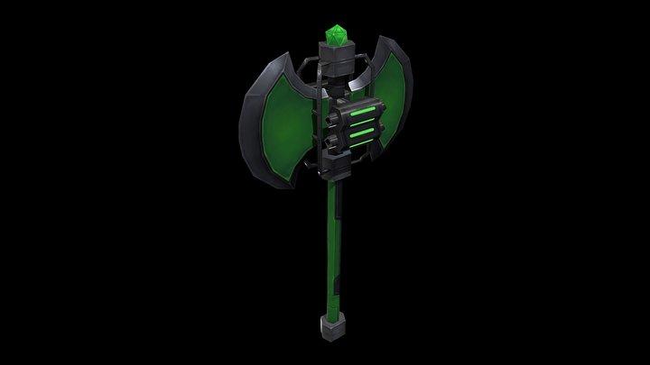 Fantasy Axe-00 3D Model