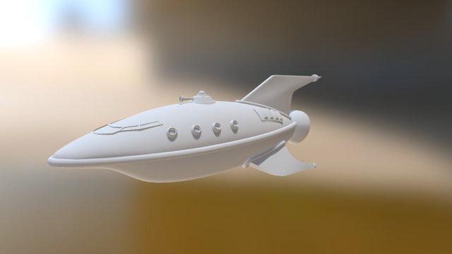 Planet Express Ship 3D Model