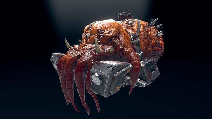 bio monster boss 3D Model