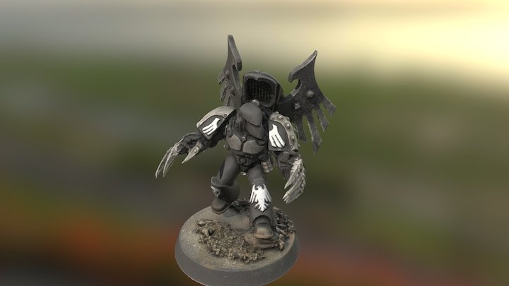 Raven Guard Dark Fury 3D Model