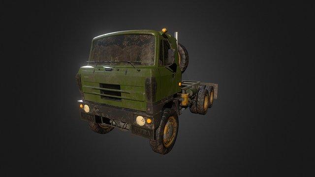 Tatra 815 3D Model