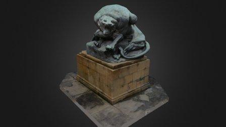 Hercules and the Nemean Lion 3D Model