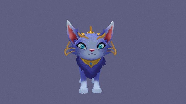 Magical cat Yuumi 3D Model