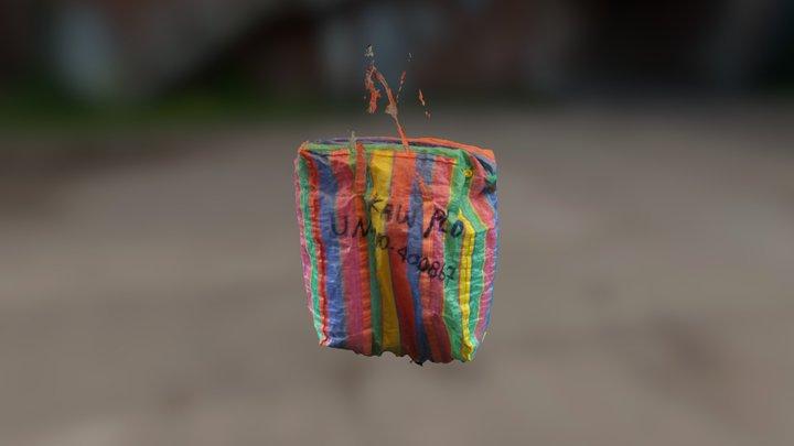 Colorful Bag 3D Model