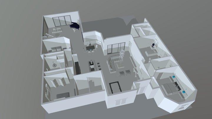 Villa Prestige 3D Model
