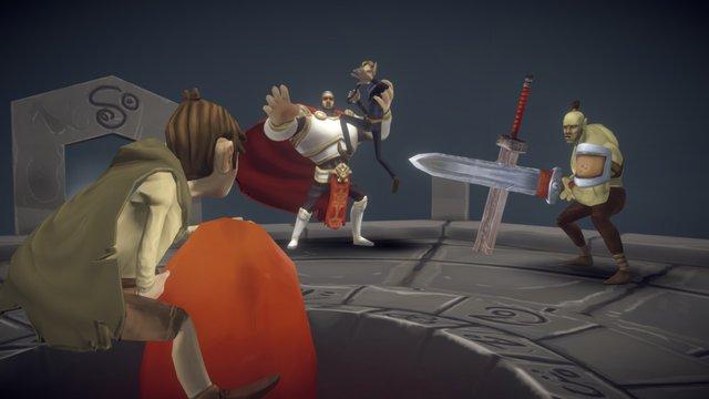 Showdown at the Monestary of Blood (Full) 3D Model