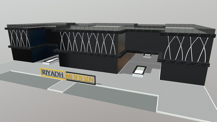 Black Market 3D Model