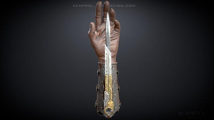 Phantom blade [FanArt] 3D Model