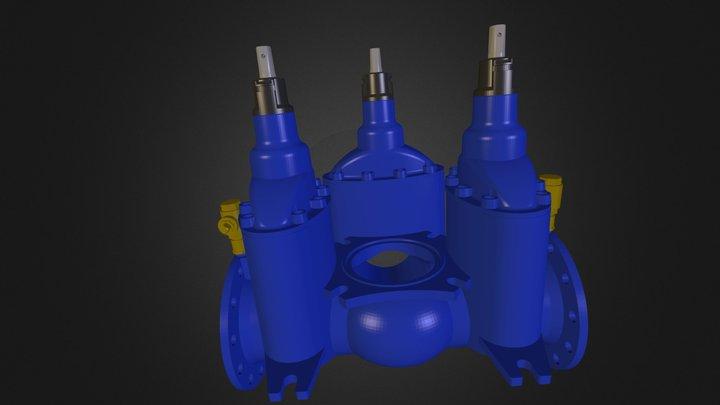 Water Pipe Object Novapoint 3D Model