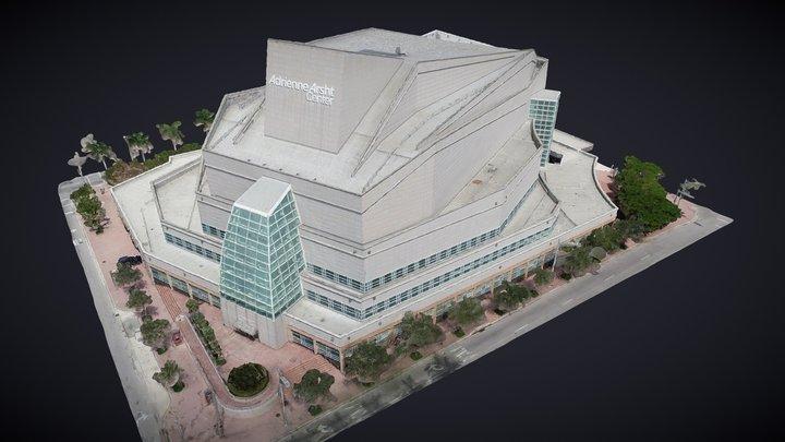 Arsht Center Knight Concert Hall 3D Model