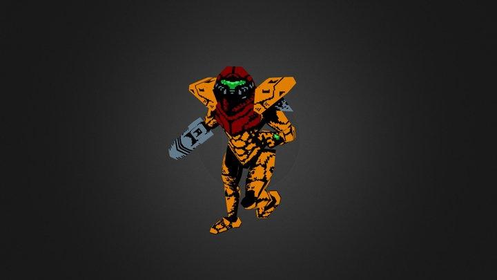 Samus Power Suit 3D Model