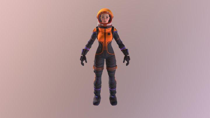 Med Astronaut 3D Model