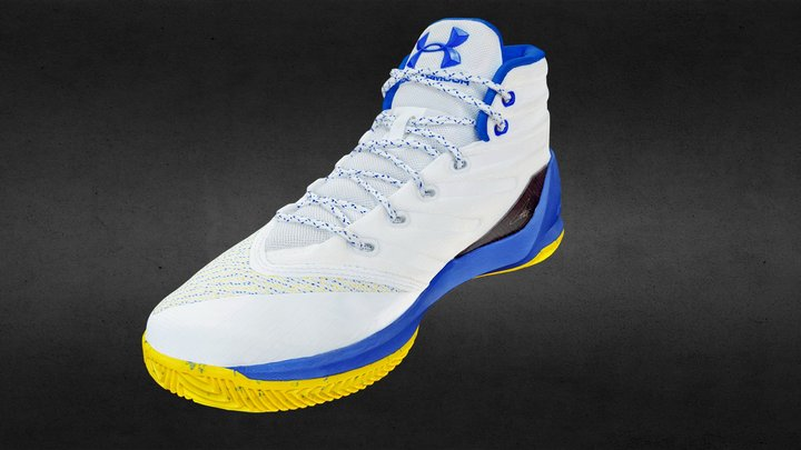 Steph Curry Basketball Shoe 3D Model