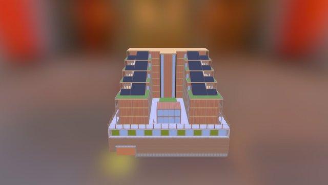 Amoeba 2.0 3D Model