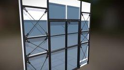 Mechanical Door 3D Model