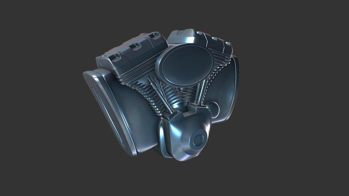 Engine Print 3D Model