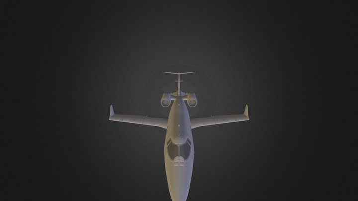 Avion 3D Model