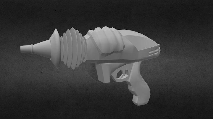Sci_firaygun 3D Model