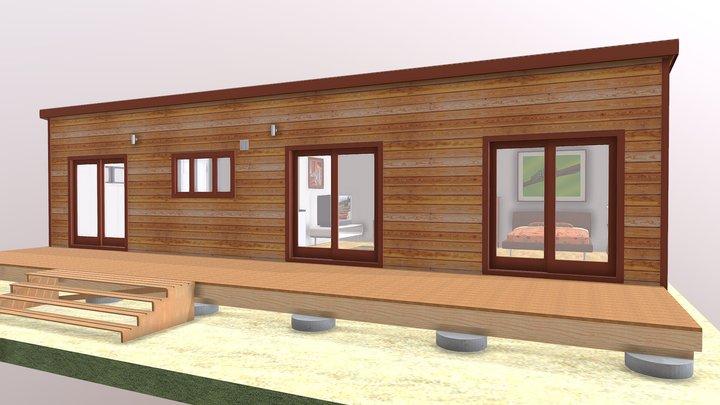 Transportable 2 Bedroom 3D Model