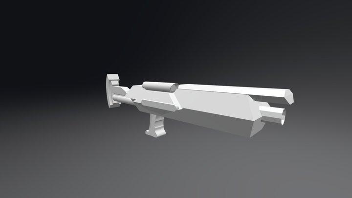 Overstep Gun 3D Model
