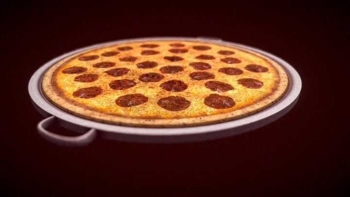 Pizza [FREE] 3D Model